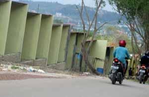 KIOS yang dibangun di Jalan Bukit Kemuning, Kelurahan Mangsang, Kecamatan Seibeduk, Batam